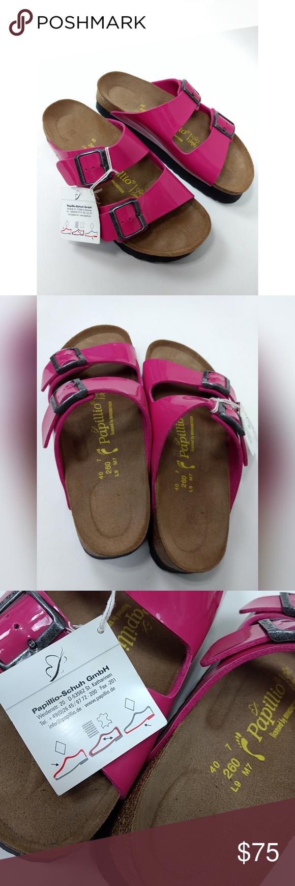 8d7330535d5 Birkenstock Papillio Arizona Platform Sandals 40 9 Brand New with tags
