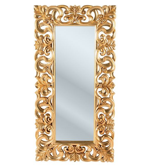 espejo troyes gold grande big mirror troyes gold