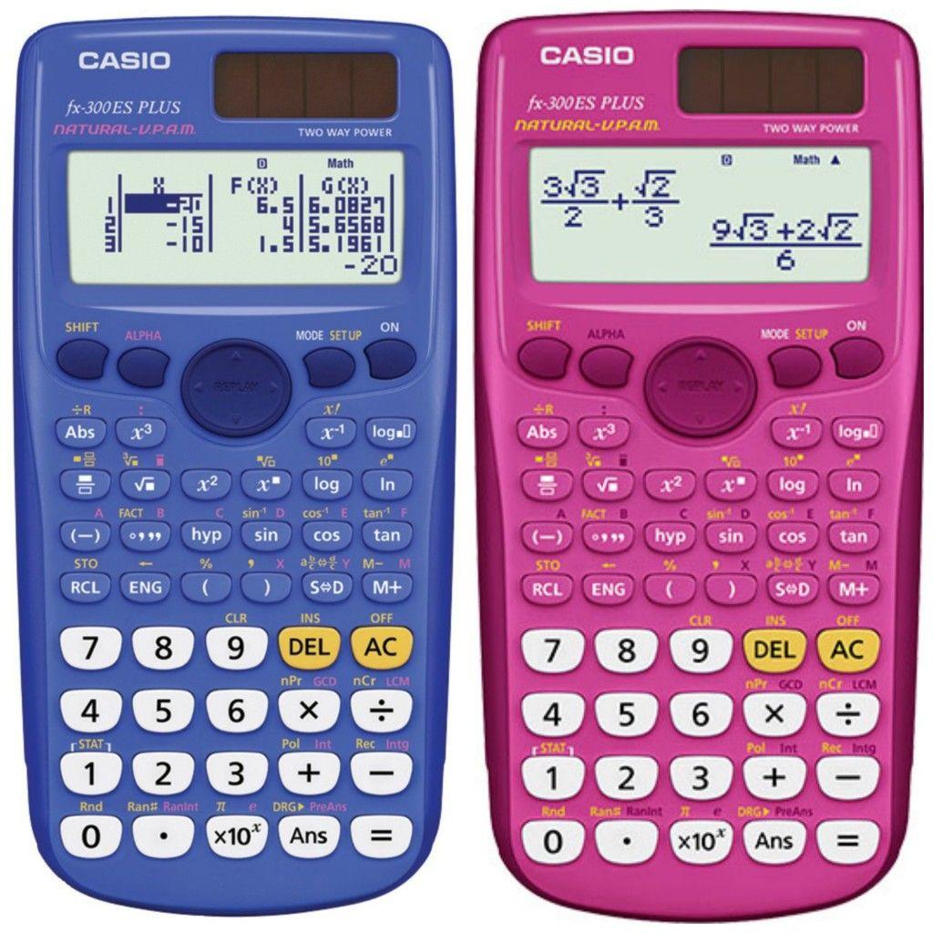 Casio Scientific Calculator Fx 300es Plus Giveaways Pinterest