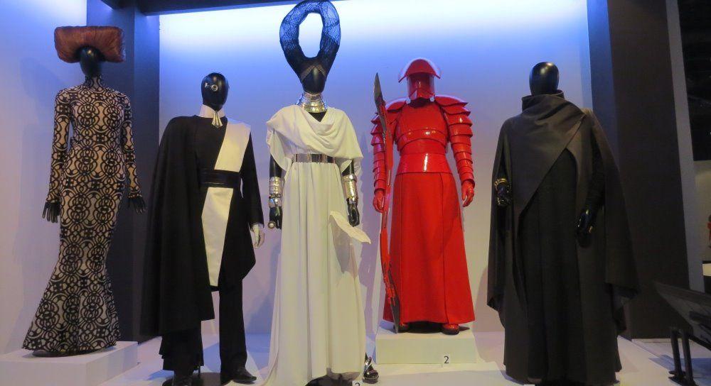 The Last Jedi Costumes On Display At The Fashion Institute Of Design Merchandising Jedi Costume Fashion Institute Institute Of Design