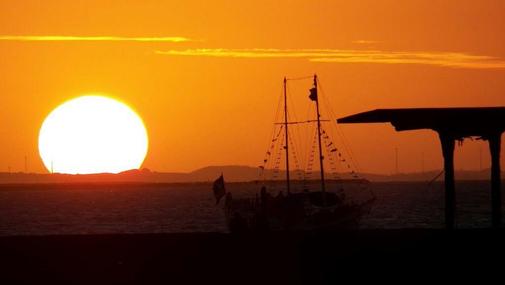 Por do Sol do Nordeste Brasileiro