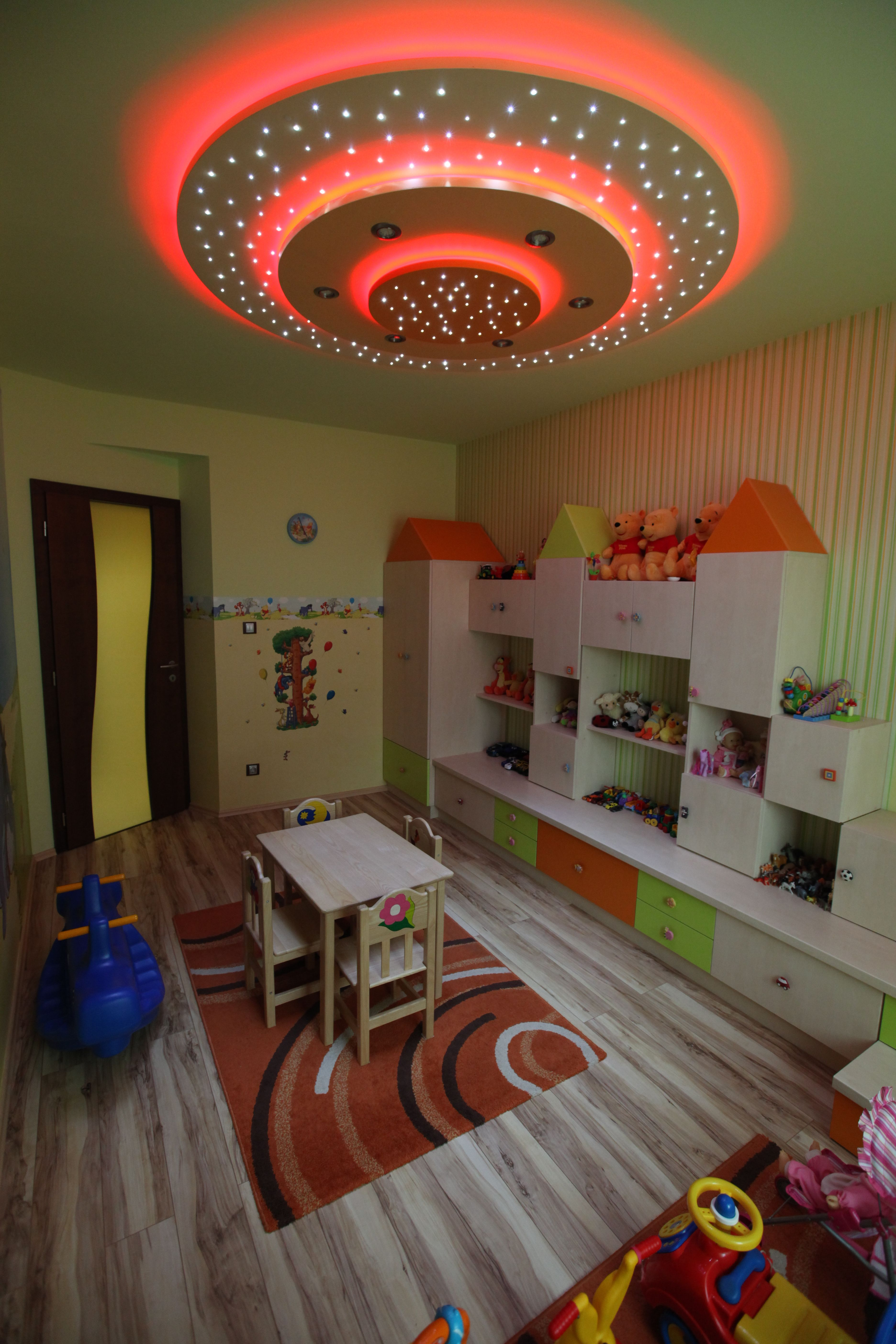 Children S Playroom With Multi Functional Starry Ceiling