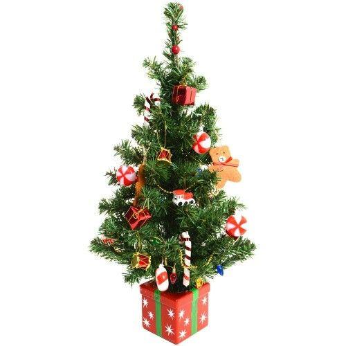 Christmas - mini Christmas tree - candy decor Seasons Pinterest - how to decorate a small christmas tree