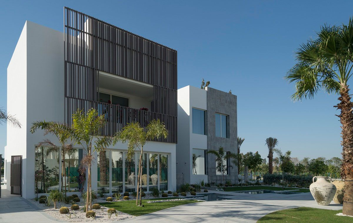 Modern house designs uae for Modern house uae