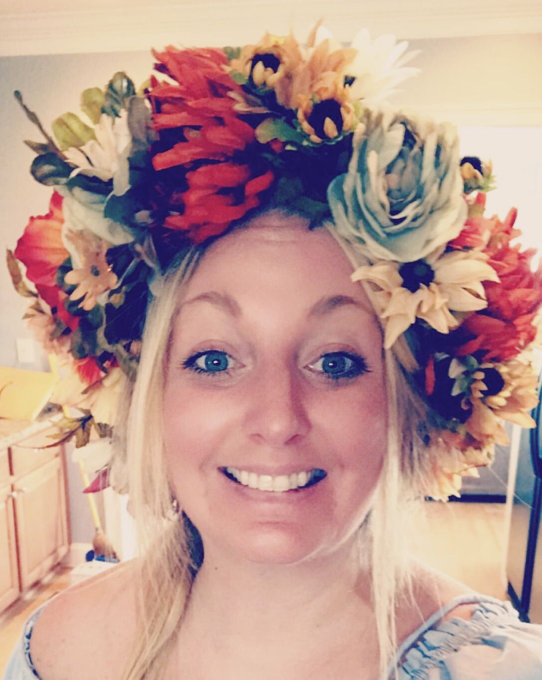 Fall Flower Crowns Fall Flower Crown Learn How To Make Your Own