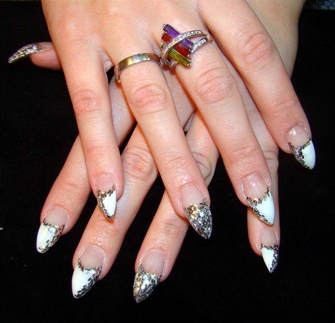 Disco Stilettos - Nail Art Gallery | STILETTO NAILS | Pinterest ...