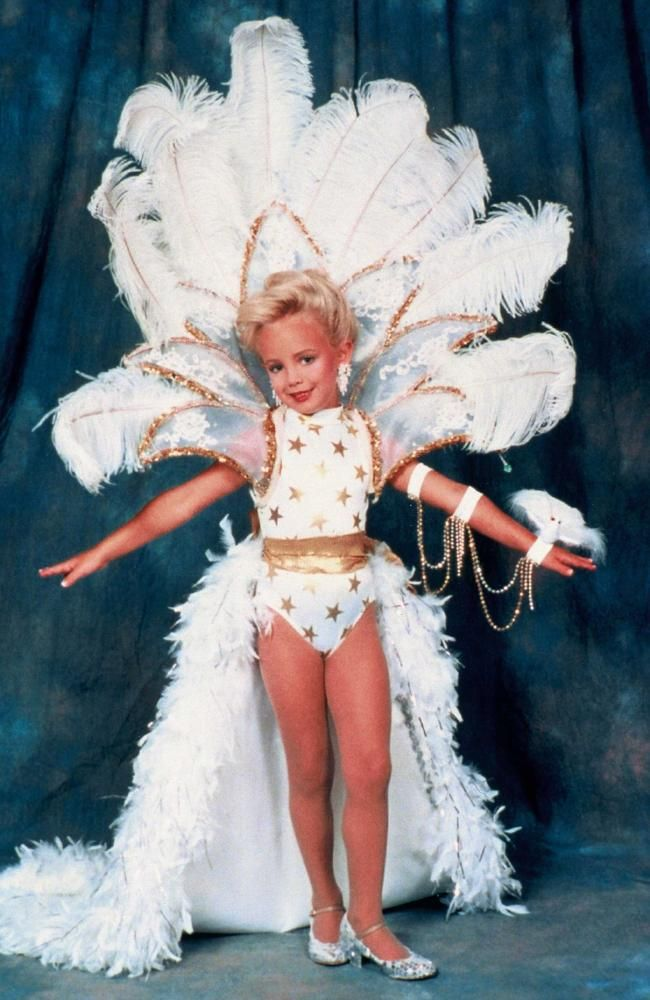 The body of JonBenet was found bludgeoned and strangled in her basement on December 26 1996. Picture: Snapper