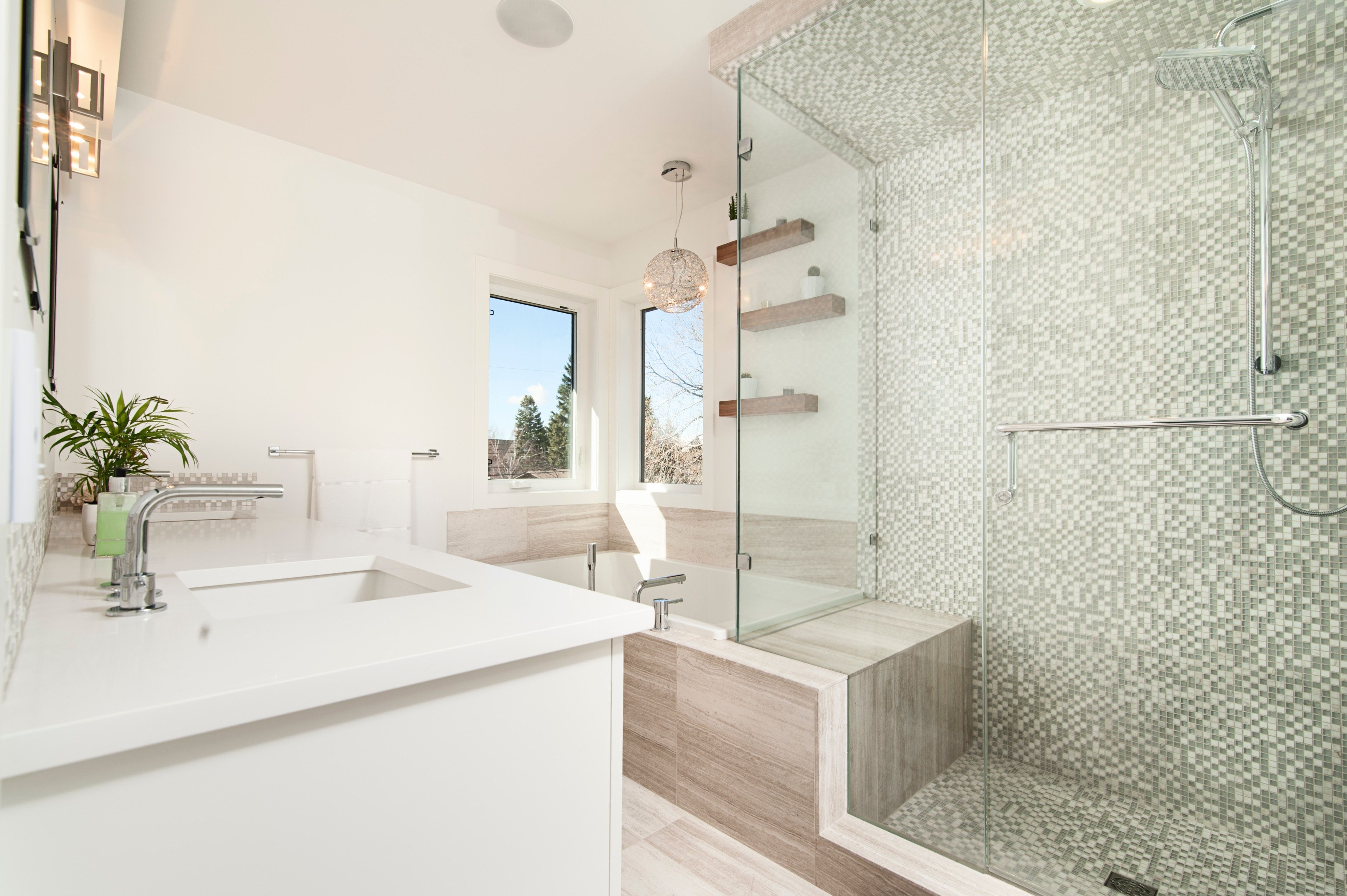 Luxury and clean bathroom