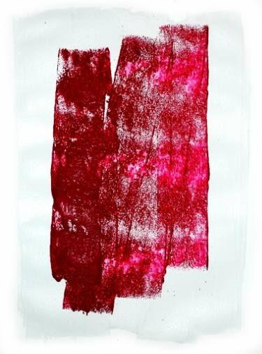 "Saatchi Art Artist Kunstbetrieb Alujevic; Painting, ""Dialoque light-grey - red…"