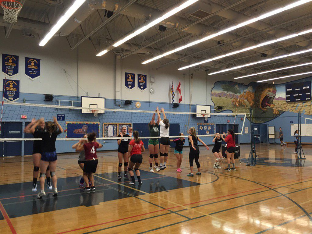 Lambrick Park Girls Volleyball Team Victoria School Student Life International Students