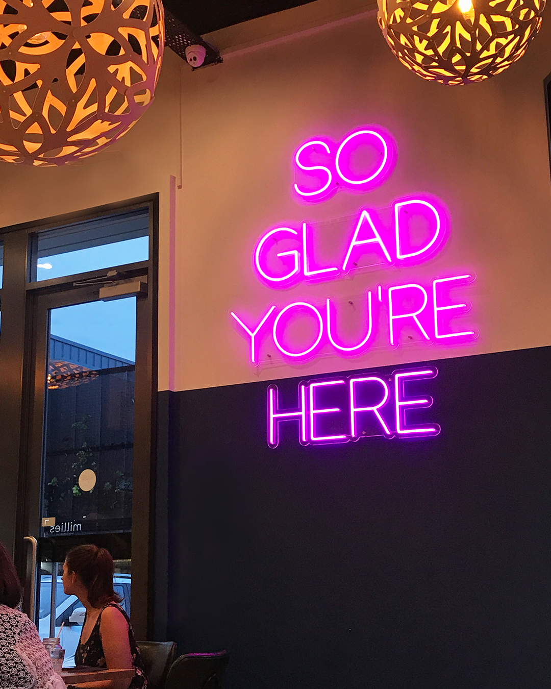 So Glad You Re Here Neon Neon Signs Quotes Neon Signs Home Neon Quotes