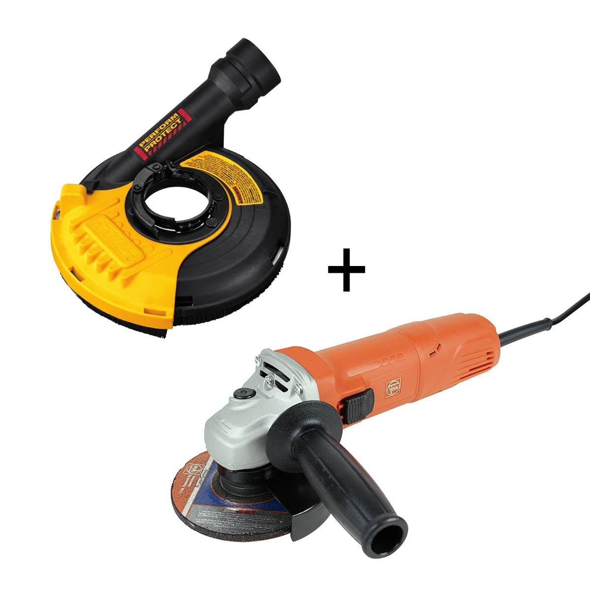 Fein angle grinder optical smoke detector