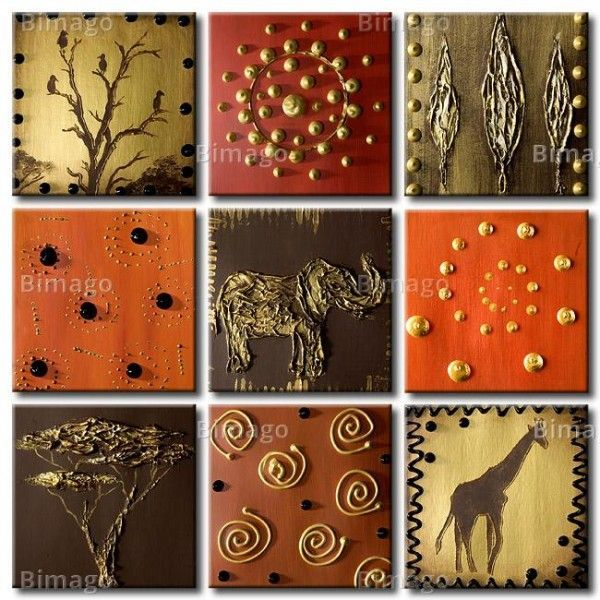 Superieur Tropical Escape: Magical Safari House. African RoomAfrican ArtModern  PaintingsWall ...