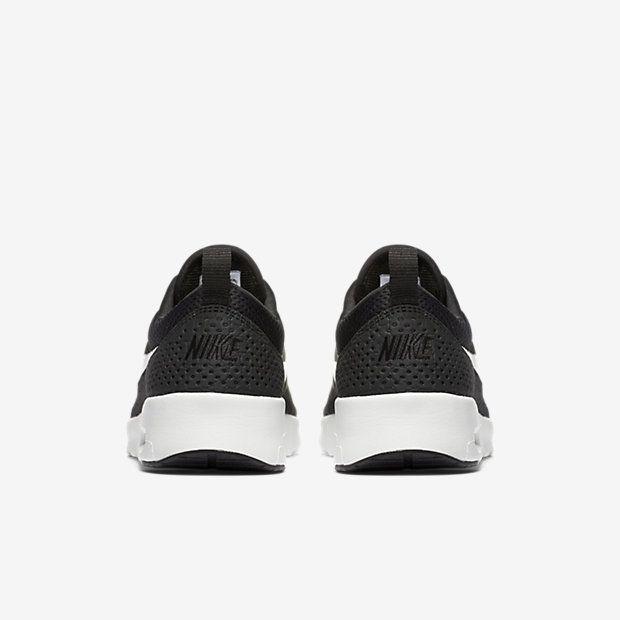 Chaussure Nike Air Max Thea Pas Cher Femme et Homme Noir Blanc Sommet