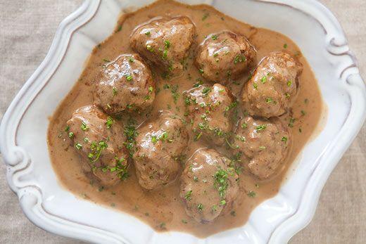 Swedish Meatballs Recipe In 2018 Gastronomy Pinterest