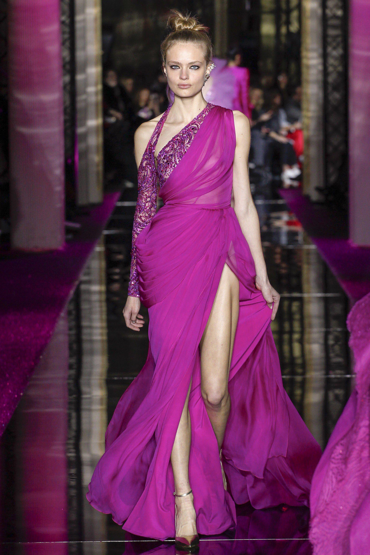 Zuhair Murad Spring 2017 Couture Fashion Show | Vestiditos, Noche y ...