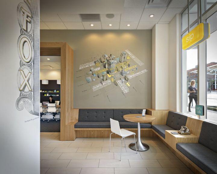 umpqua bank flagship by ditren portland oregon retail design blog - Commercial Interior Design Blog
