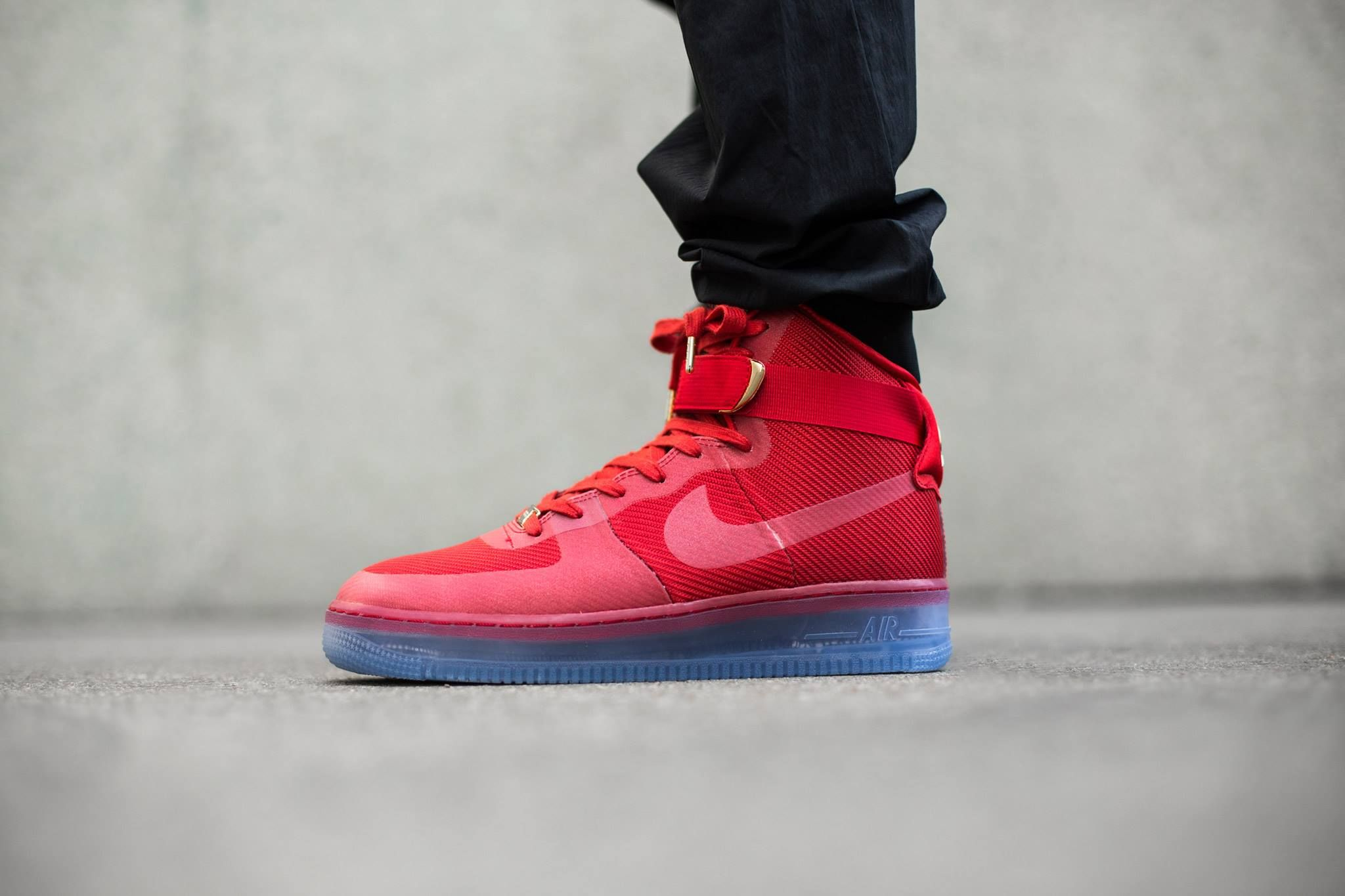 nike air force 1 high 07 red mustang