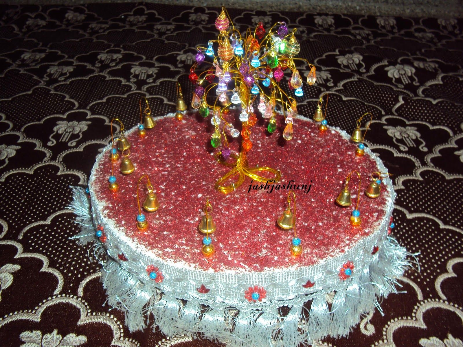 Aarathi plate wedding pinterest handicraft for Aarti dish decoration