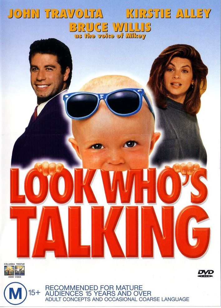 Look Who's Talking, 1989 - oh my I'm old. haha.. I love this movie, I just don't know why.