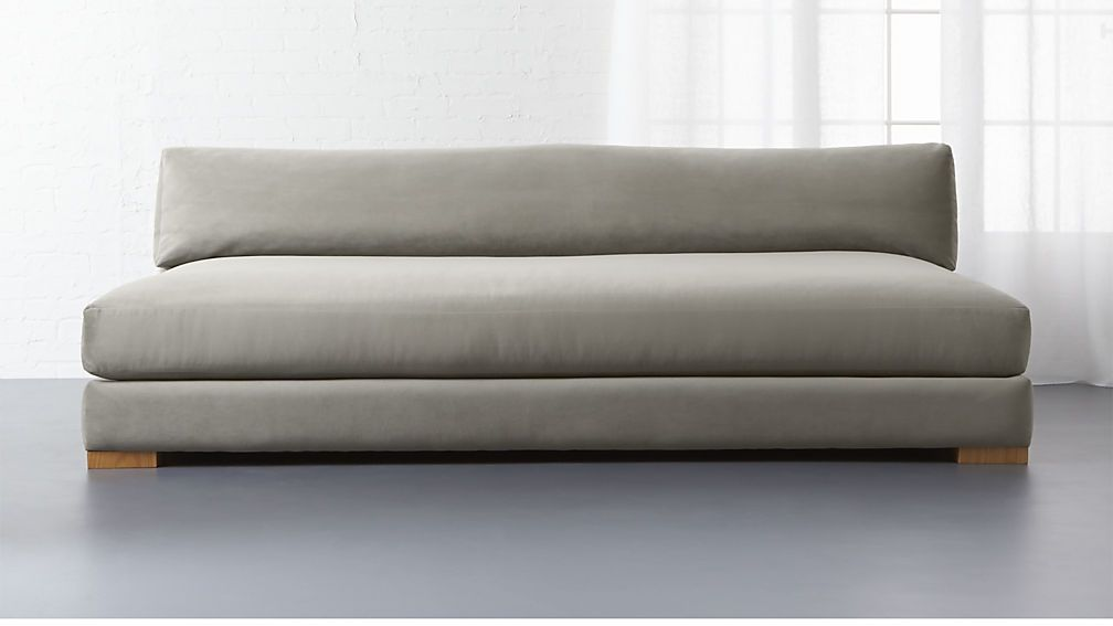 Piazza sofa. I sat in this today at a Crate&Barrel Outlet and wow was it