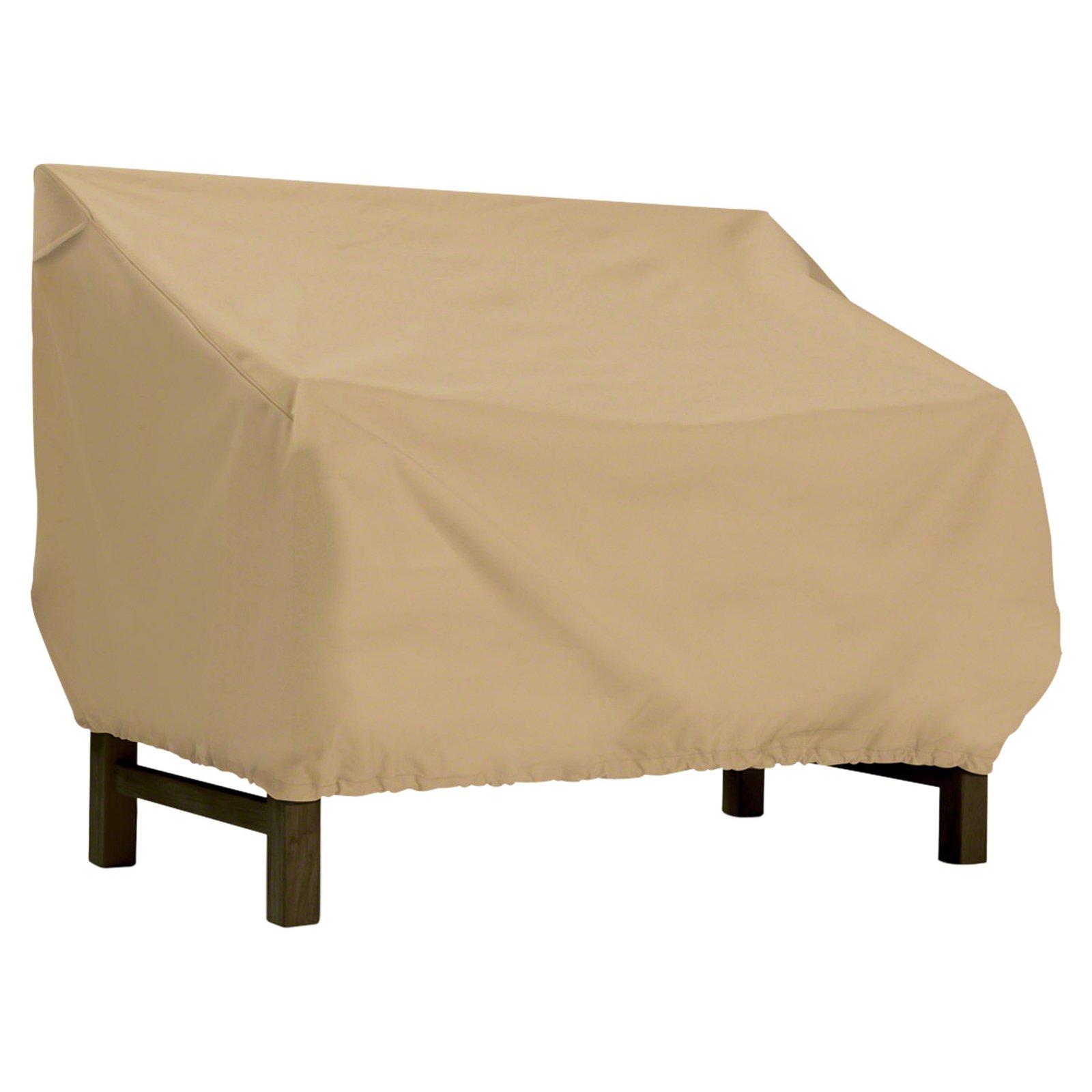 Classic Accessories Terrazzo Patio Bench Loveseat Cover Patio Furniture Covers Loveseat Covers Furniture Loveseat
