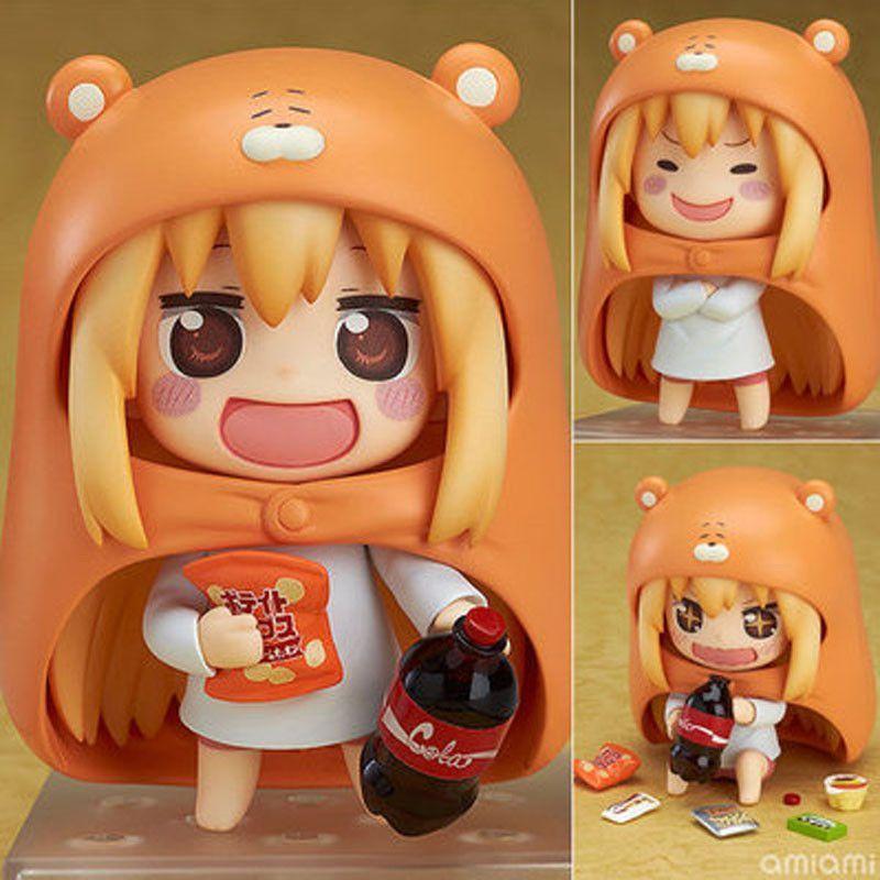 Japanese Anime Figure U M R Cute Nendoroid Doma Umaru PVC Action figure Model Toy 10cm