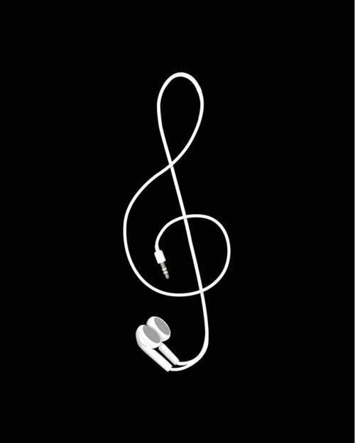 Música Audífonos Nota Musical Tatuajes Musik Musikalisch Y