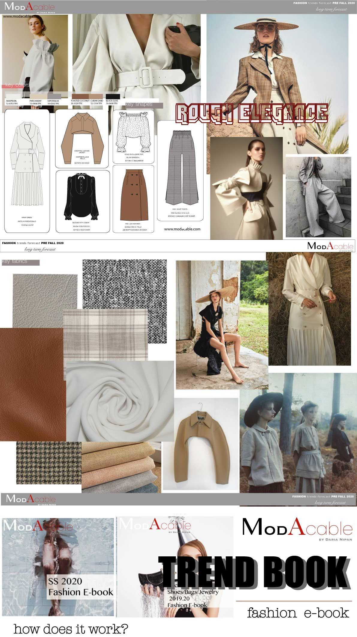 Trends Fall 2020.Pre Fall 2020 Fashion Trend Rough Elegance In 2019 2020