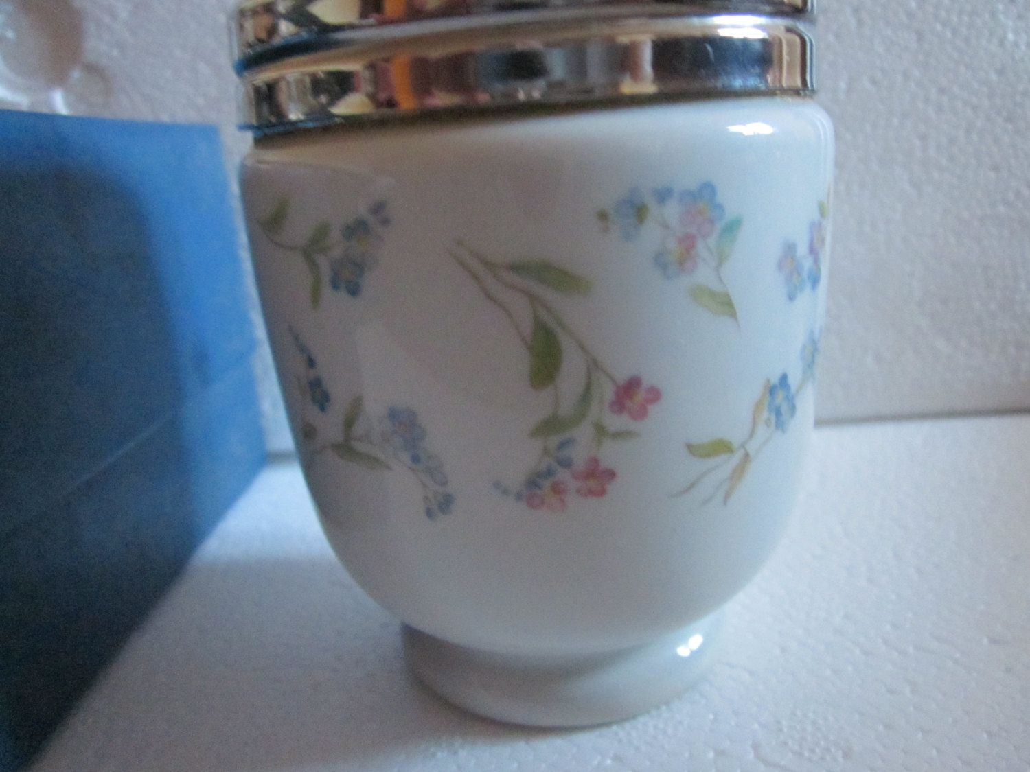 Royal Worcester Porcelain Rare Pattern, Forget Me Not Coddler, Large ...