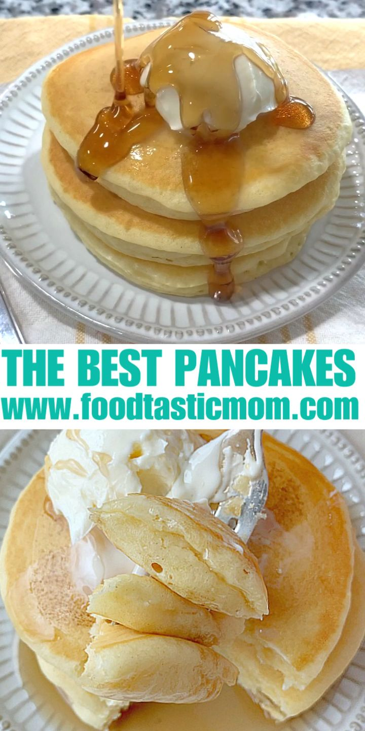 Photo of The Best Buttermilk Pancakes