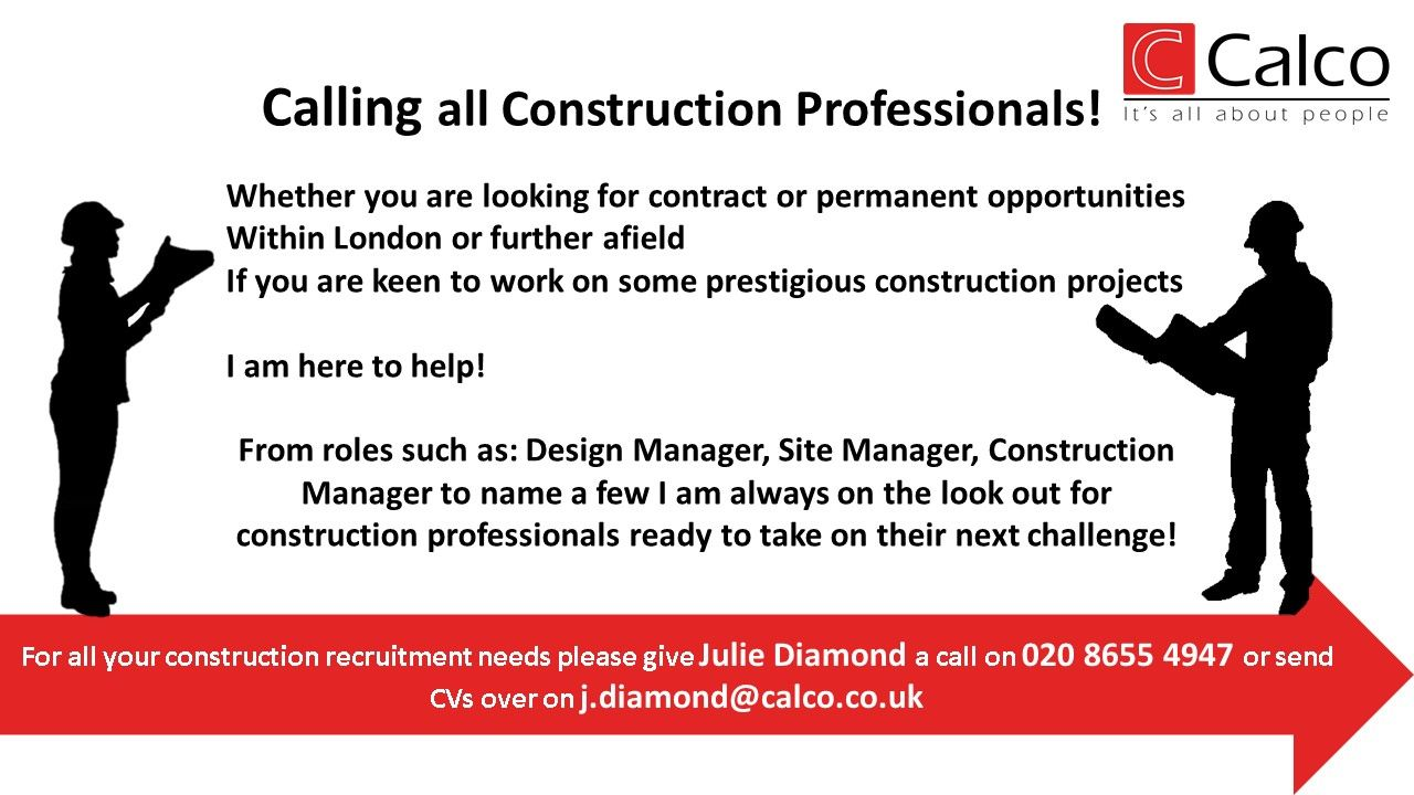 If you are a Construction Professional looking for a new