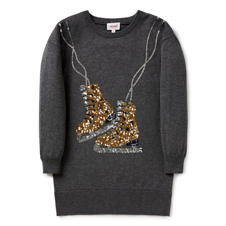 Shop Now: ice Skates Knit Dress. #seed #seedchild | Shop Now ...