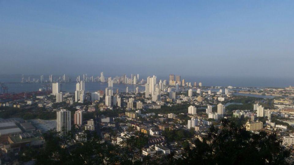 Cartagena - vista desde el Cerro de la Popa