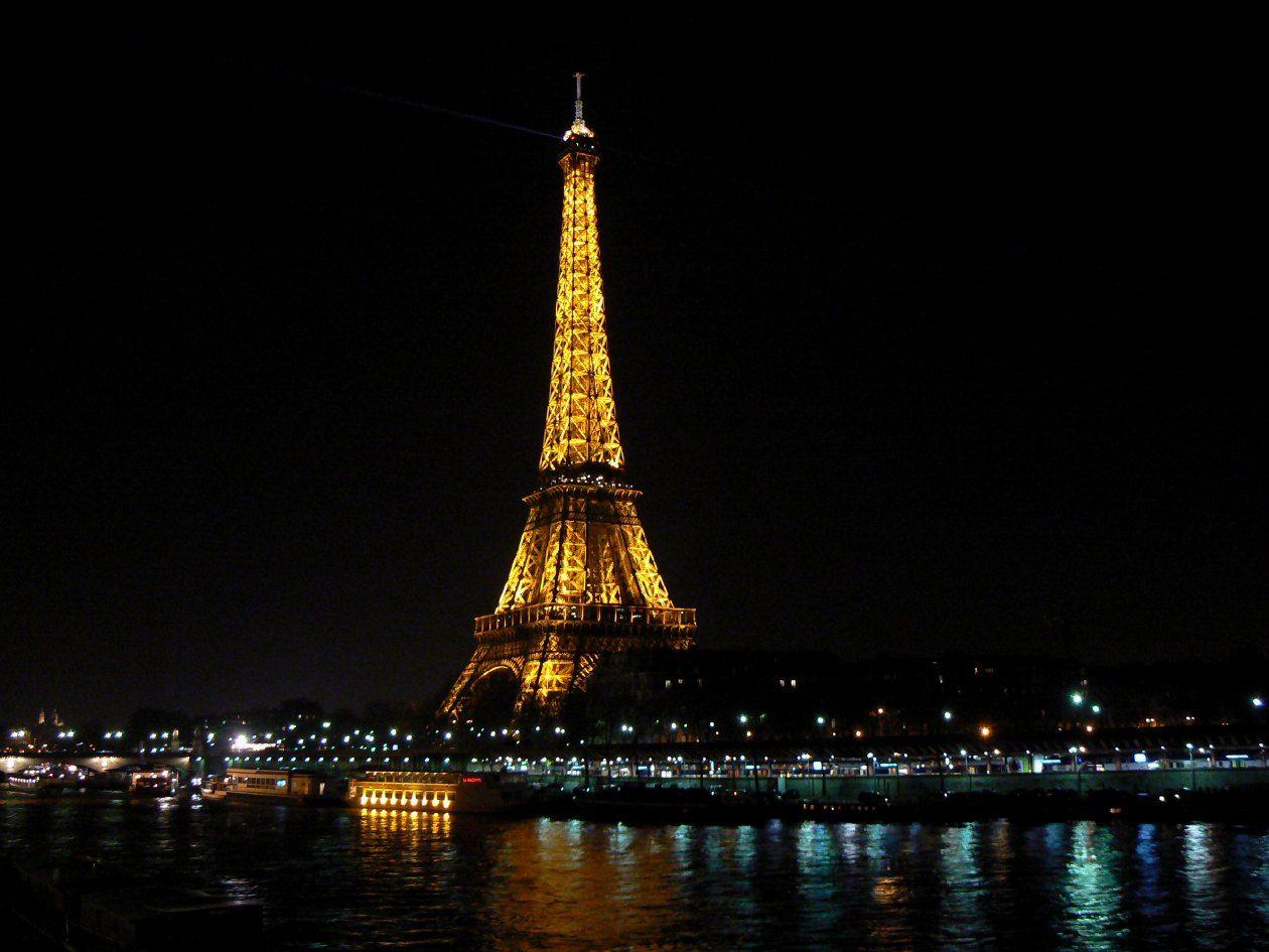 torre eiffel de noche fotos de la torre eiffel