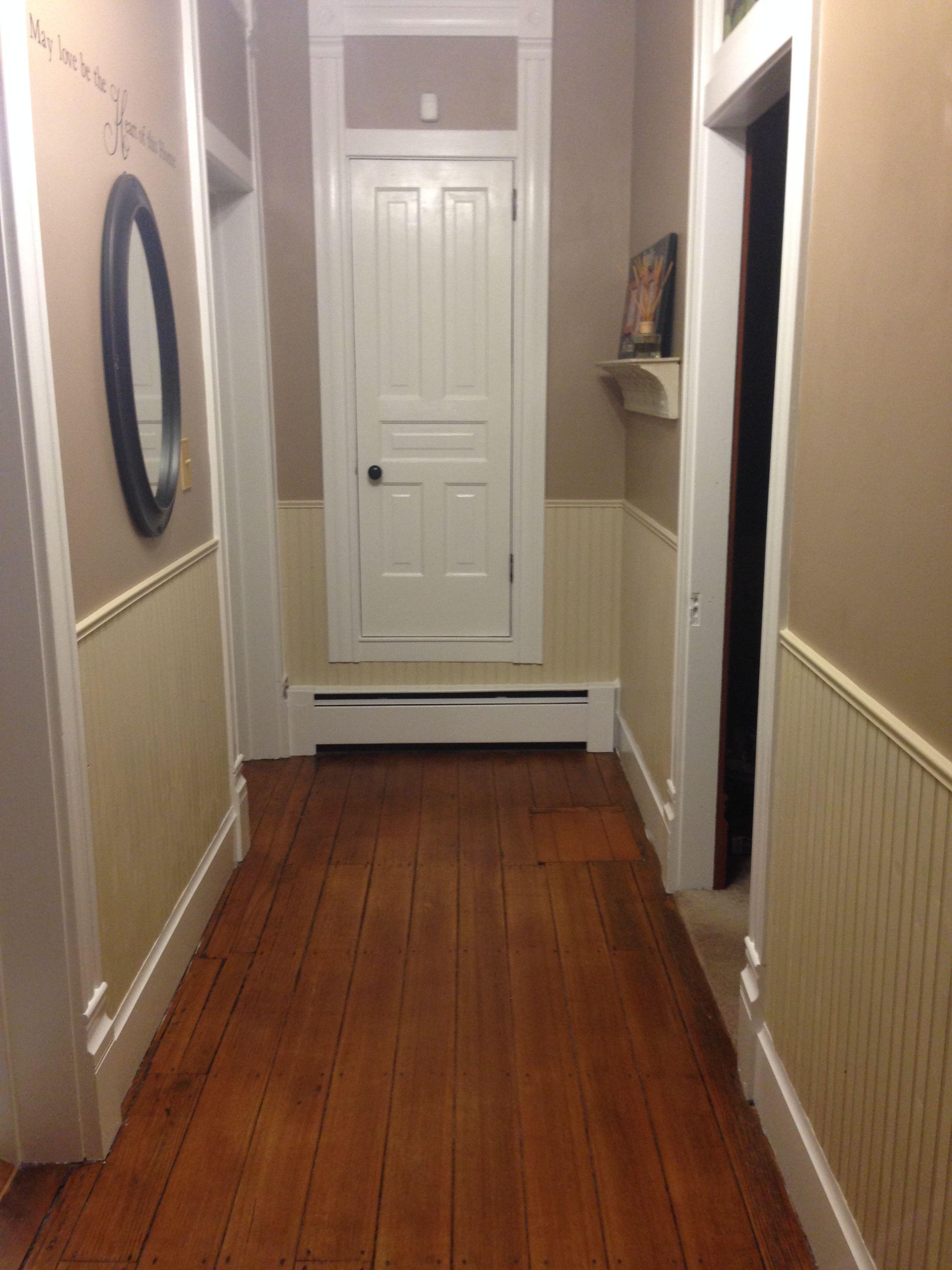 Closet door painted hallway renovation pinterest closet doors