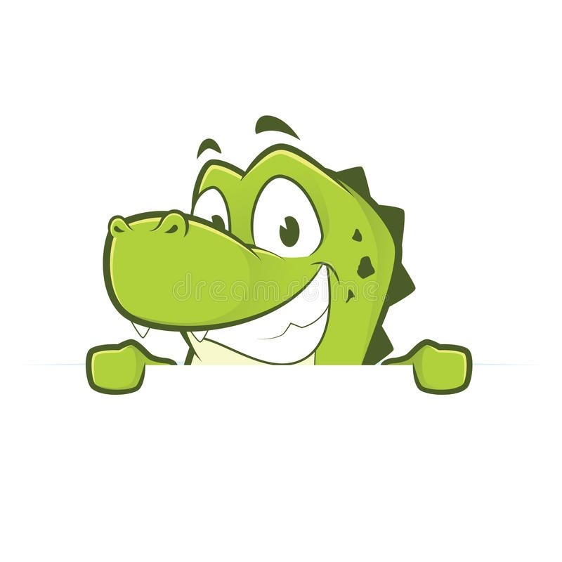 Crocodile Or Alligator Holding And Looking Over A Blank Sign Board Clipart Pict Crocodile Cartoon Cartoon Drawings Of Animals Character Design Inspiration
