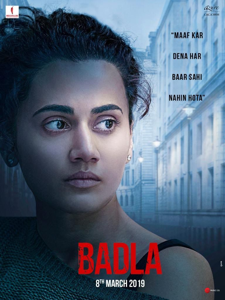 Badla Hindi Language Movie This Movie Is In Theaters From March 8 2019 Bollywood Movie Full Movies Full Movies Online Free