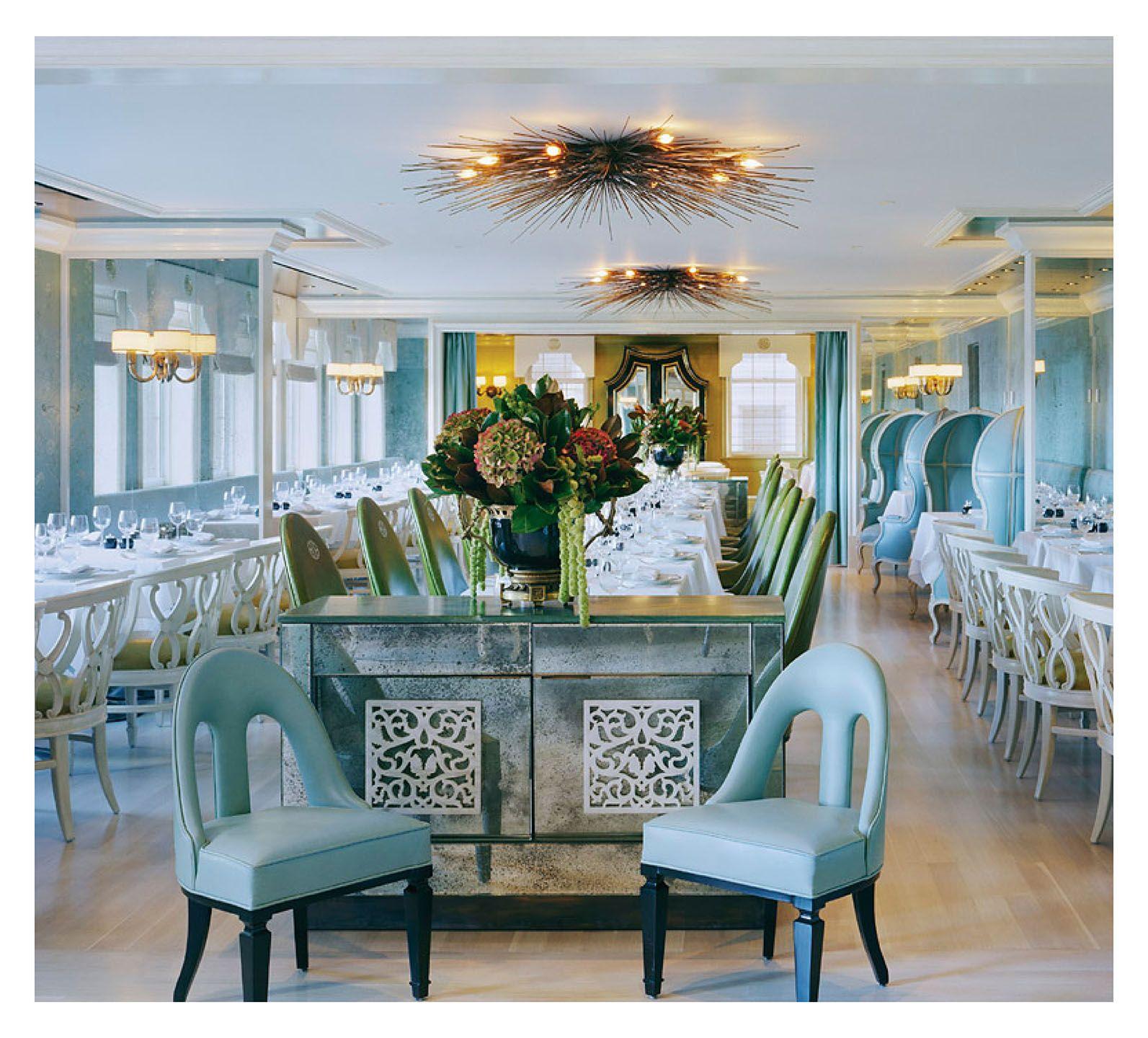 bergdorf goodman restaurant interior design by kelly wearstler