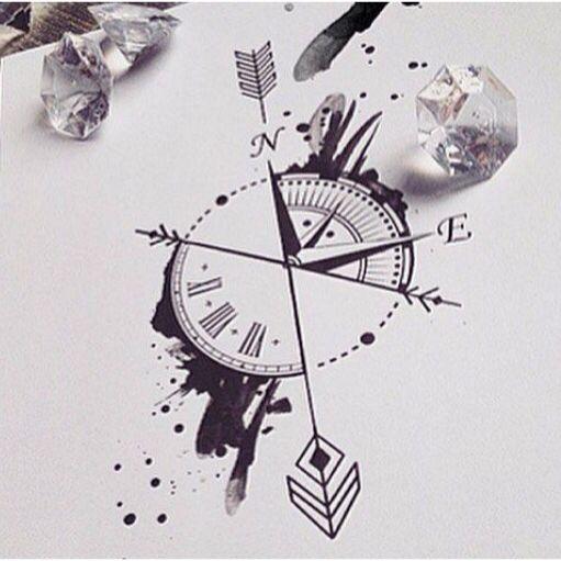 Pin By Liz On Tattoos Pinterest Tatouage Tatouage Horloge And