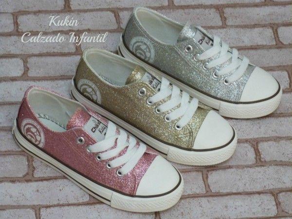 zapatos deportivos nueva estilo de moda Zapatillas lona brillo zapatos niña-lonetas-deportivas-lonas ...