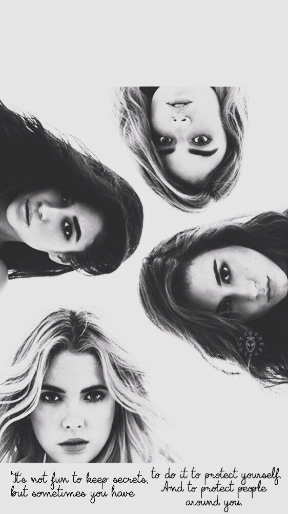 Wallpaper Lockscreen Pretty Little Liars ✨