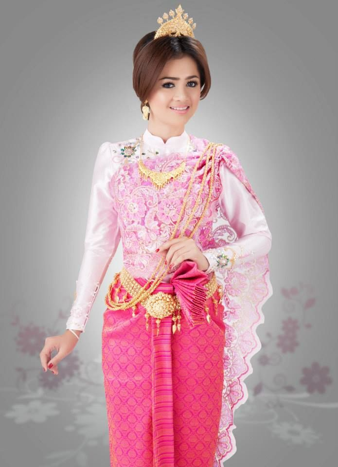 Khmer wedding dress angkor weddings and events for Khmer dress for wedding party