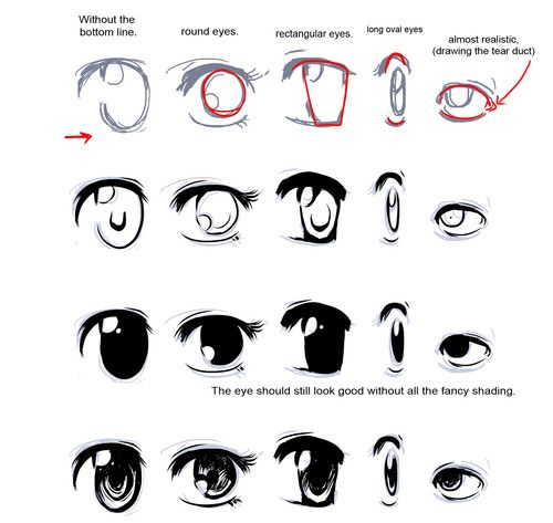 How to drawing doodles how to draw manga eyes