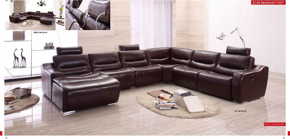 Find More Living Room Sofas Information About Cow Genuine/real Leather Sofa  Set Living Room