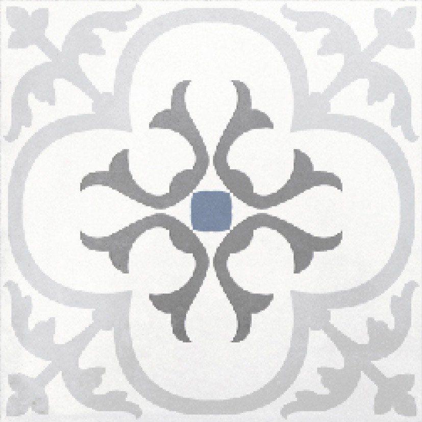 Carrelage Interieur Gatsby Artens En Gres Gris Blanc Et Bleu 20 X 20 Cm Leroy Merlin Murs Gris Bleu Tapis Carreaux De Ciment Carrelage
