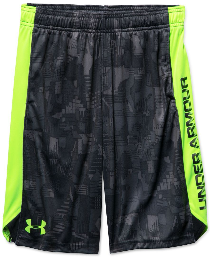 fc41a39c420 Under Armour Boys  Eliminator Printed Shorts