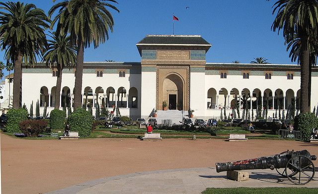 French Art Deco Courthouse Casablanca Morocco French Art Deco Architecture Mansions