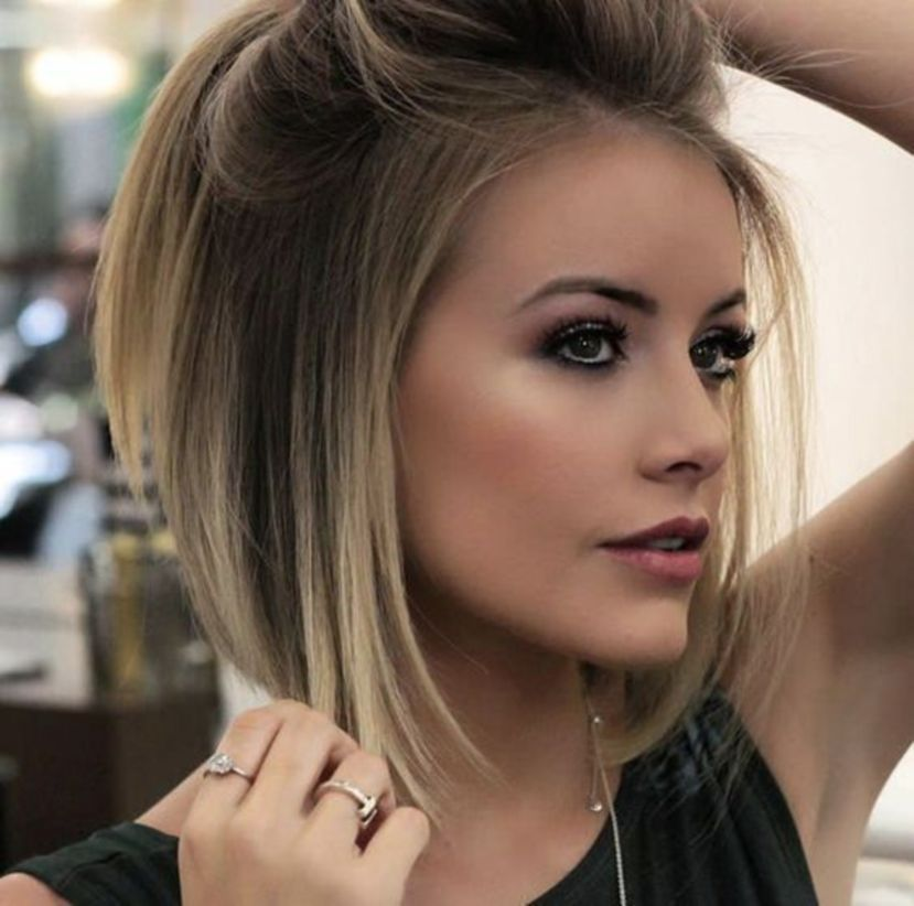 47 Straight Hair Ideas That Is Trend Of Girl Today S Charmino Thick Hair Styles Hair Styles Short Hair Styles