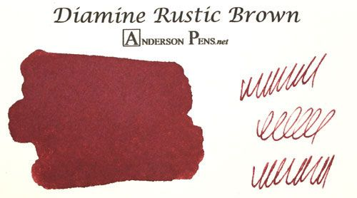 diamine rustic brown ink 80ml bottle fountain pen ink fountain